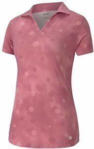 PUMA Golf 2020 Polo pour Femme, Femme, Polo, 597700, Vin Rose, XS