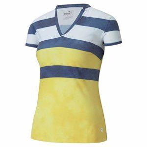 PUMA Golf 2020 Polo pour Femme, Femme, Polo, 597702, Super Citron, s
