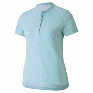 PUMA Polo de Golf pour Femme 2020 Essence, Femme, Polo, 597690, Milky Blue Heather, XL