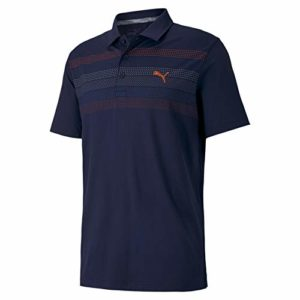PUMA Polo Road Map Golf pour Homme Peacoat XXL
