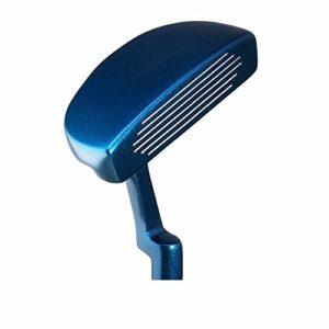 Putter de Golf Durable Club de Golf pour Jeunes Clubs de Golf pour Jeunes Hommes Putters pour golfeurs droitiers ou gauchers (Couleur : Bleu, Taille : Height 135-150cm)