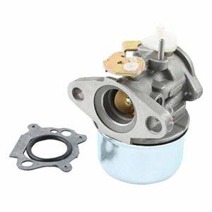 QKP Nouveau Carburateur pour Briggs & Stratton 497586 499059 498170 Joint De Tondeuse à Gazon