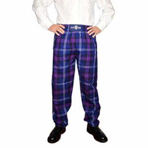 Scotland Écossaise Heritage of Tartan Décontracté Donnelli Pantalon Golf – Pourpre, L-XL