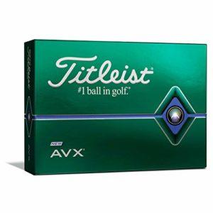 Titleist AVX Balles de golf Blanc (une douzaine)