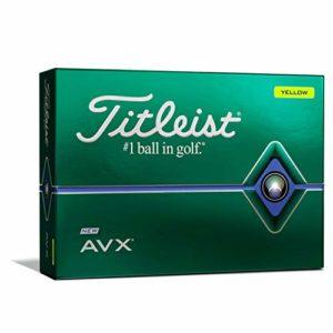 Titleist T9112S Lot de 2 balles de golf Jaune