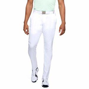 Under Armour Showdown Taper' Pantalon Homme, Blanc, Taille Fabricant : 34/34