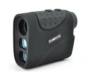 Visionking Compteur de Distance 6 x 21 avec capteur Laser pour Chasse de Golf Noir 1200 m