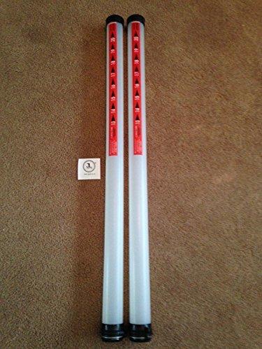 2 x JL Golf clikka tubes. Ball retriever. Holds 21 balls NEW [Misc.]