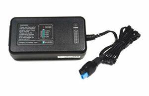 Elcon Chargeur de Batterie Intelligent Haute fréquence 12 V 4 A – Convient pour Les Batteries au Lithium 12,8 V (LiFePo4)