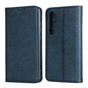 Flip Etui Coque pour Xiaomi Note 10 Lite (Bleu)