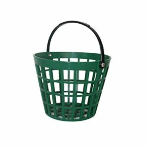 INGHU Panier en Plastique pour Parcours de Golf, conteneur de Stockage empilable pour Golf avec poignée, Seau de Transport pour Golf pouvant contenir 25/50/75/100/150 balles
