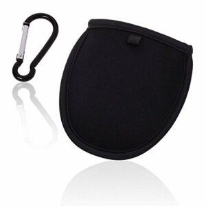 Kostoo Pochette de nettoyage portable pour balle de golf avec clip