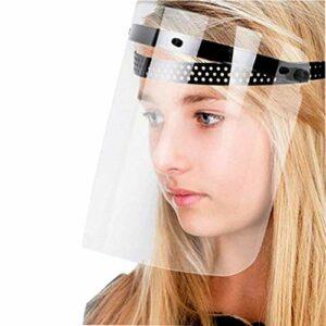 Li-HIM Visière rotative réglable de Protection pour écran Facial de sécurité, Anti-poussière, Vapeur d'huile, pour la Cuisson, Sports de Plein air, Paquet de 10