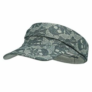 MIAOYO Chapeau à Large visière, Visière Sun Sports Exercice – séchage Rapide – Pas de maux de tête évacuation de l'humidité pour Golf, Softball, Volleyball, Course à Pied (2 pièces),Camouflage Green