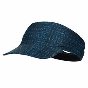 MIAOYO Visière Sport en sergé de Coton, Visière Sun Sports Exercice – séchage Rapide – Pas de maux de tête évacuation de l'humidité pour Golf, Softball, Volleyball, Course à Pied (2 pièces),Bleu