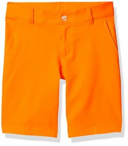 PUMA Short pour garçon XS Orange Vif