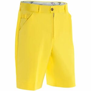 Royal & Awesome Shorts DE Golf Hommes Yolo Yellow