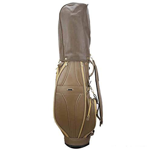 XJLJ Sac de Golf PU imperméable Dames Standard de Golf Sac sur Pied résistant à l'usure Golf Voyage Case Organisateur Sac léger Golf Voyage Coffe Case Golf Sacs Portables