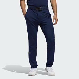 adidas Pantalon de Sport en Tricot Jacquard pour Homme, Homme, Pantalon, TM6319S20, Bleu Marine, 35W / 32L