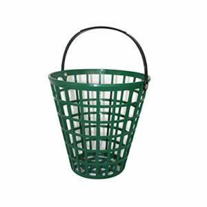 Afittel0 Panier Balle Golf conteneur Stockage extérieur Vert Portant Pratique Maison Gain Place en Nylon Clubs Grande capacité empilables Portable avec poignée(75)