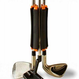 ARONTIME Organisateurs de putter de golf avec clips de fixation anti-collision légers (Orange)