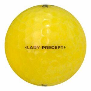 Bridgestone 60 Lady Precept Yellow – Near Mint (AAAA) Grade – Recycled (Used) Golf Balls