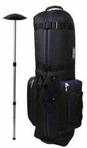 Caddy Daddy Sac de Golf Golf Constrictor 2Housse de Transport, CDYCON2NP, Black/Navy with North Pole