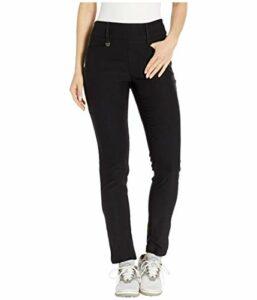 Callaway Pantalon Technique pour Femme avec Devant Plat et Pantalon Extensible, Femme, Pantalon, fauxCGBF9021, Caviar, X-Large 29 inch Inseam