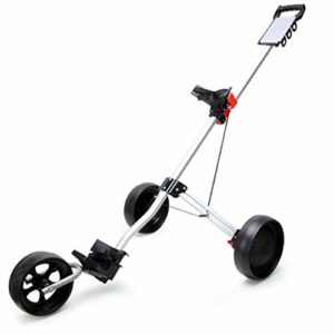 Chariot De Golf,3 Wheel Push Trolley Chariot Pliable, Trolley Court Supplies Chariot De Golf Junior