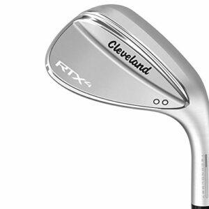 Cleveland Golf RTX 4 Wedge Tour compensé pour homme Finition satinée 58 Low Tour Satin Wedge Droite