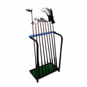 Crestgolf organiseurs Club de Golf Club de Golf écran étagère – Vert, en MÉTAL