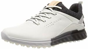 ECCO Chaussures de golf S-Three Gore-tex pour femme, blanc (blanc), 37/37.5 EU
