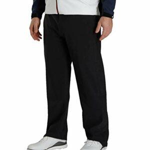 FootJoy DryJoy Tour LTS Rain Pants (Large, Black)