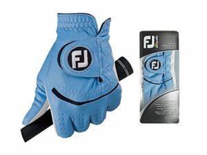 Footjoy FJ Spectrum – Gant de Golf pour la Main Gauche (Composite) Couleur: Bleu Taille: ML