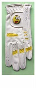 Gant de golf jaune pour femme Taille M Jaune
