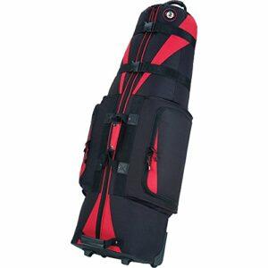Golf Travel Bags Unisex Caravan 3.0 Bag, Black with Red Trim