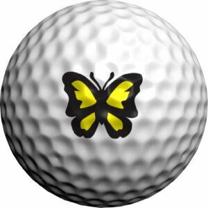 Golfdotz Majestic Papillon, Jaune