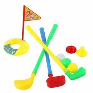 Harilla Ensemble de Putter de Golf Drôle pour Enfants