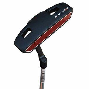 HEQIE-YONGP Balle de Golf- Club de Pratique de Golf pour Hommes, Main Droite, Club de Pratique de Golf intérieure et extérieure, Club de Match Standard avec poignée en Caoutchouc Confortable, Noir
