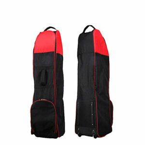 HEQIE-YONGP Balle de Golf- Sac de Golf étanche avec poulie Sports Outdoor Golf Travel Bag Sac de Transport résistant et résistant à l'usure pour Hommes (Color : C1, Size : 130 * 34 * 32cm)