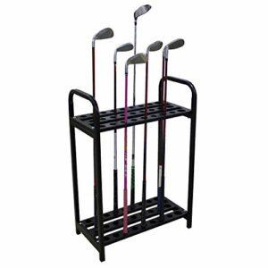 Kofull Étagère en métal pour 27 Clubs de Golf