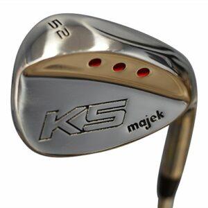 Majek Golf Short Senior Men's Gap Wedge (GW) 52° Right Handed Senior Flex Steel Shaft (Short Men – 5′ to 5'4″)