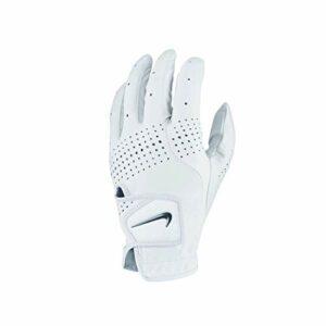 NIKE Gant de Golf Unisexe Tour Classic Blanc L/H Taille S