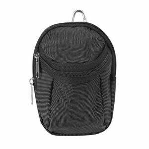 OhhGo Sac de balle de golf portable en polyester avec porte-clés Noir