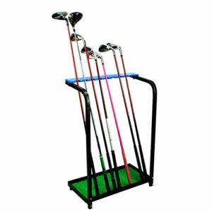 Ongoion L'outil de Golf fournit Le Support de Putter de Golf de 9 Trous, Organisateur de Club de Golf détachable Durable, Portable pour Le Club de Golf