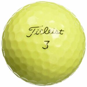 Piñalinaza 50Srixon Z-Star Jaune Mélange AAAAA Mint utilisé Balles de Golf