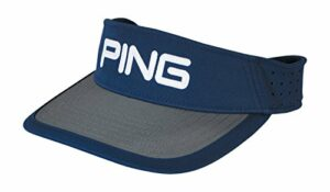 Ping Golf- Sport Visière, Homme, Navy/Steel, taille unique