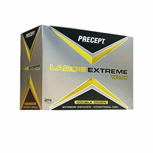 Precept 2017Chemise Laddie Extreme Balles de Golf (Lot de 24), Homme, PLYD4G, Jaune