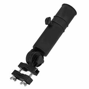 SOONHUA Support de Parapluie de Chariot de Golf Accessoire de Montage de Montant de Parapluie Réglable Universel pour Poignées de Voiturette de Golf Noir
