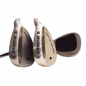 Spin Doctor RI Cale de Golf Gauche, 52/60 Degree Steel Wedge